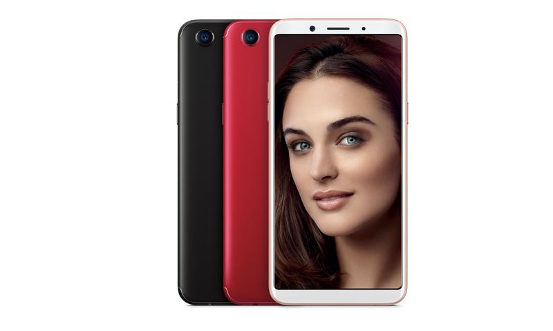 Oppo F5 é oficial! O smartphone que parece um iPhone 7 com ecrã 18:9