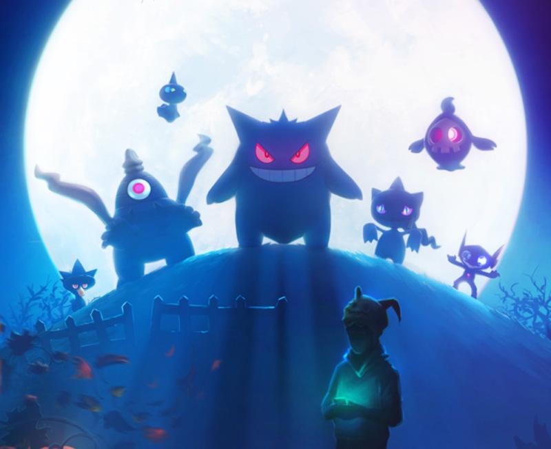 Pokémon Go novos Pokémon Halloween