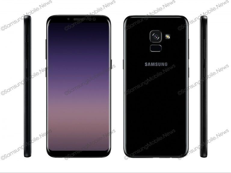 Imagem do alegado Samsung Galaxy A5 2018
