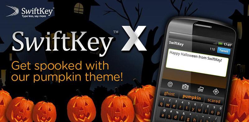 Swiftkey Halloween novos truques