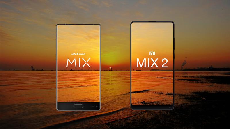 Ulefone Mix vs Xiaomi Mi Mix 2 - será que os podemos comparar?