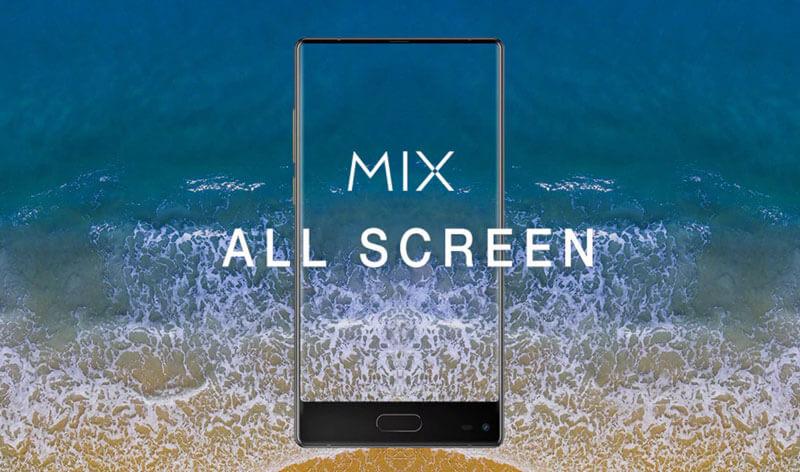 Este é o Ulefone Mix smartphone