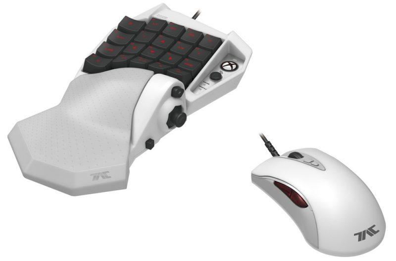 Chegarão em breve rato e teclado oficial Xbox One Hori