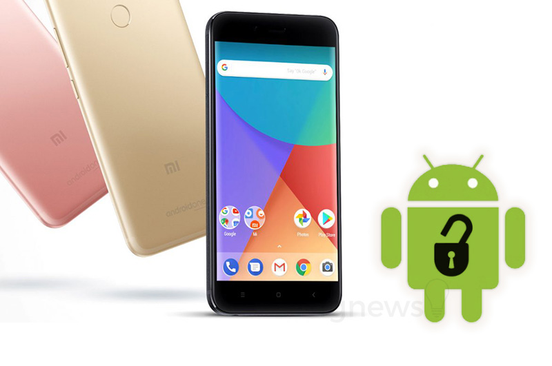 Xiaomi Mi A1 Android One root