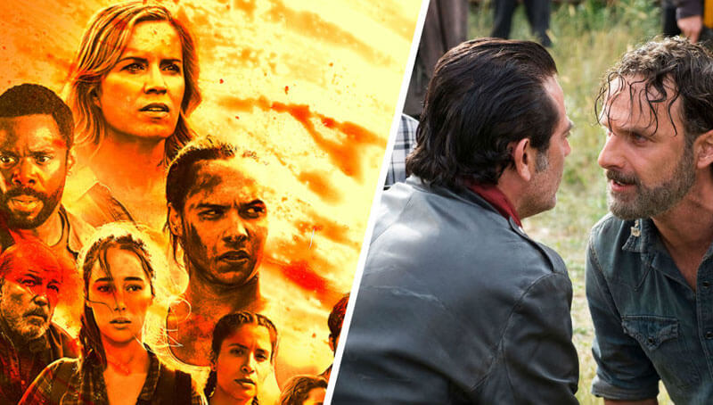 The Walking Dead e Fear the Walking Dead cruzar-se-ão em breve