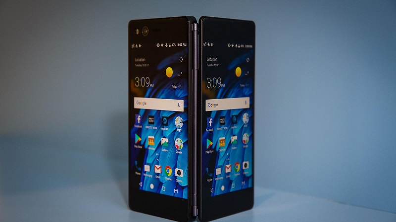 ZTE Axon M smartphone Android