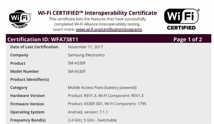 Samsung Galaxy A5 2018 Samsung Galaxy A7 2018