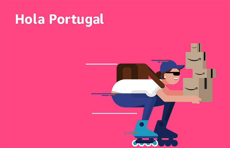 Amazon Portugal Espanha