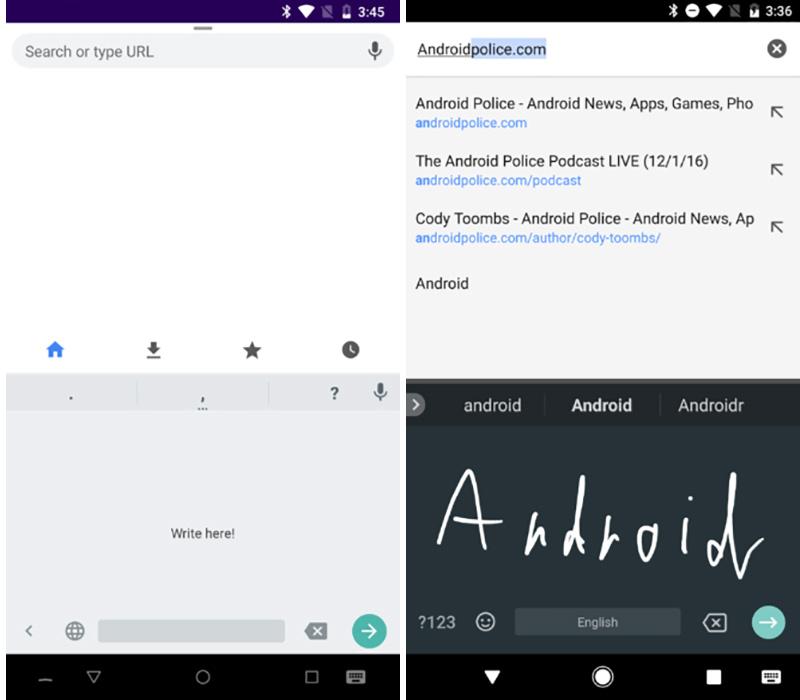 Android teclado Google Gboard