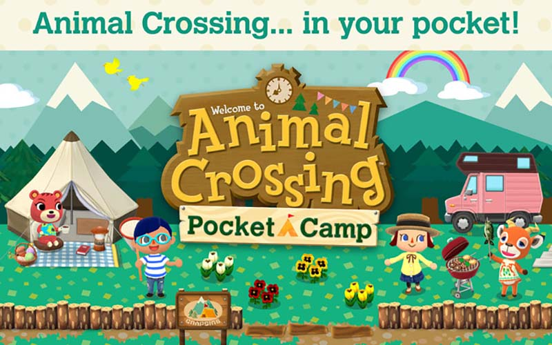 Anima Crossing Android iOS Nintendo Animal Crossing: Pocket Camp