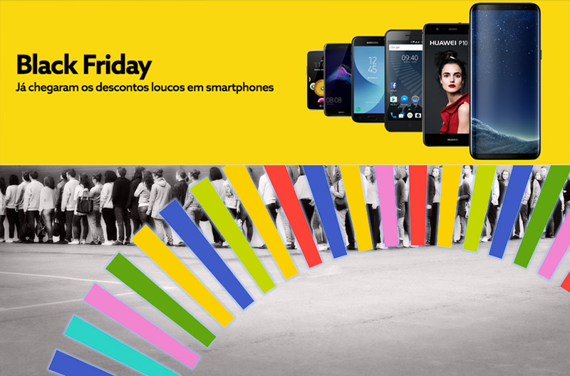 Black Friday Descontos NOS smartphones