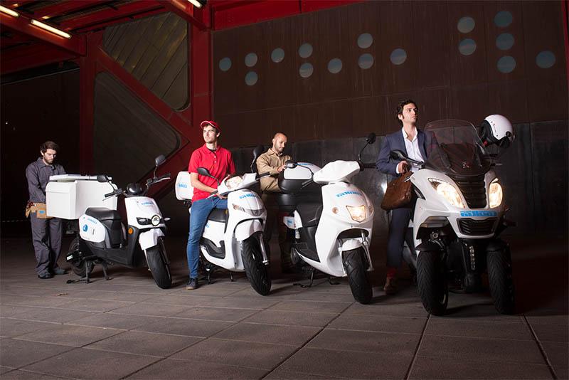 Cooltra Uber UberEATS parceria