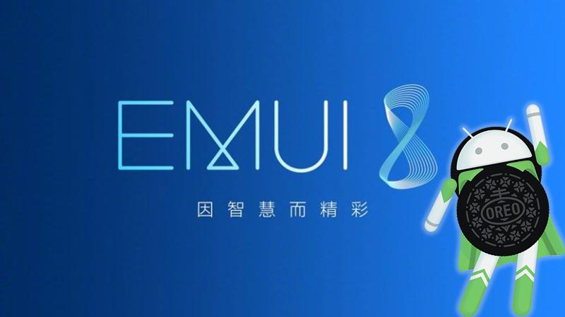 EMUI 8 Android Oreo Huawei P10