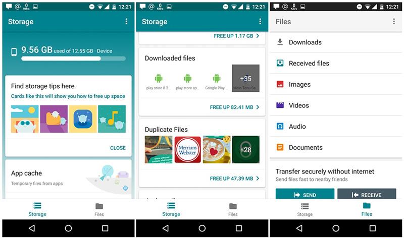 Gestor de ficheiros APP oficial Google Files Go