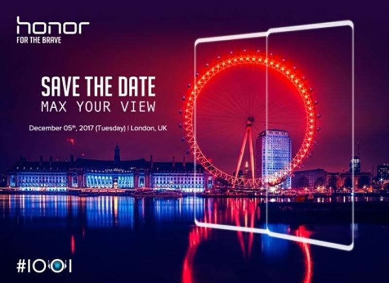 smartphone Huawei Honor V10 Huawei