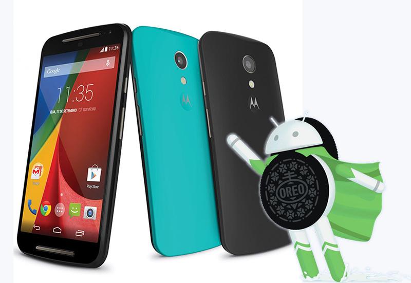 Motorola Moto G2 LineageOS Android Oreo