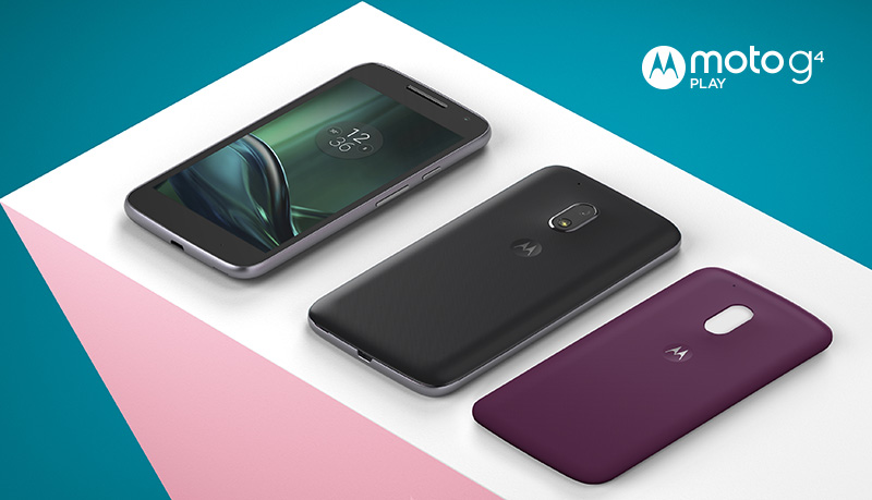 Motorola Moto G4 Play Android Nougat