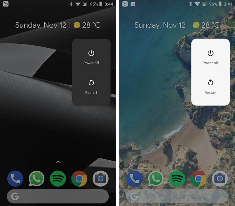Motorola Moto G5 Android Oreo Pixel