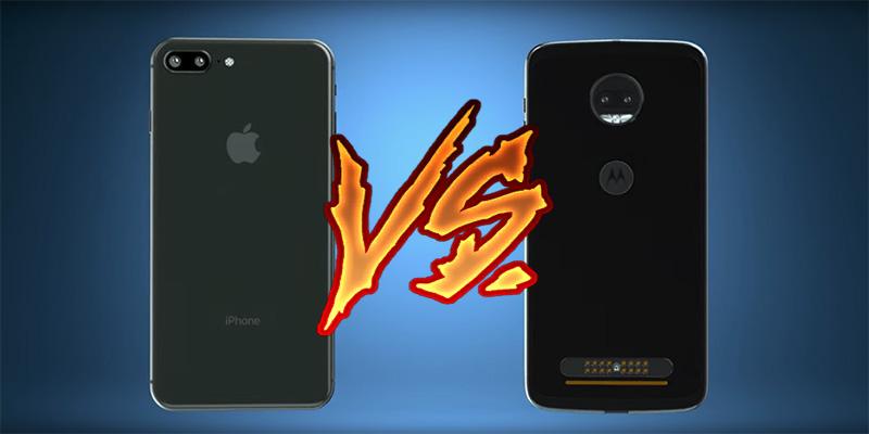 Motorola Moto Z2 Force iPhone 8 Moto Snaps