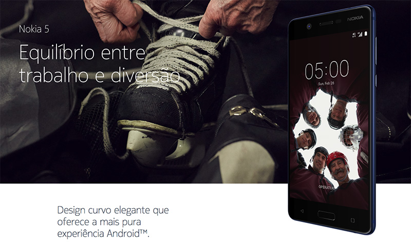 Nokia 5 smartphone Android 6