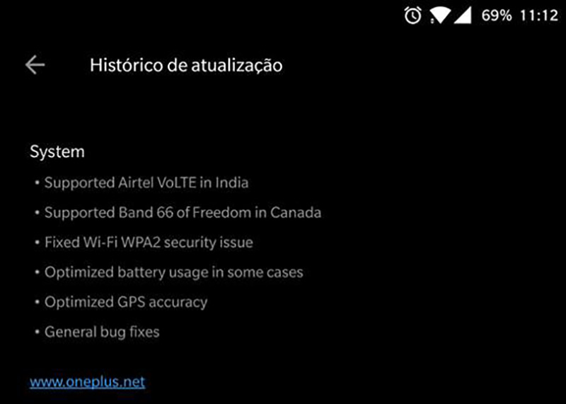 OnePlus 5 OxygenOS 4.5.14 Android Oreo