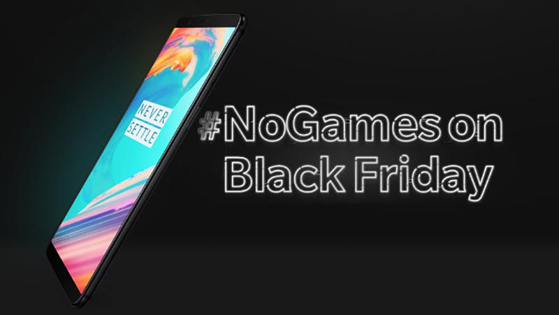 OnePlus 5T Black Friday