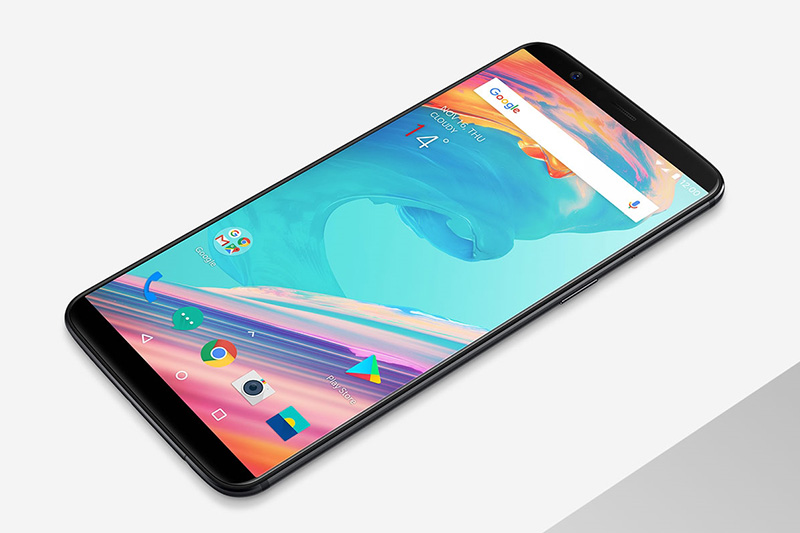 OnePlus 5T smartphone Android OxygenOS 4.7.2