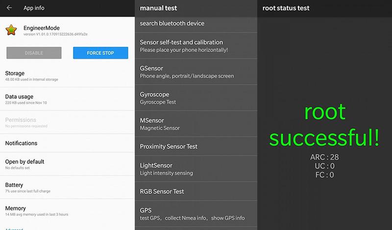 smartphones App OnePlus root