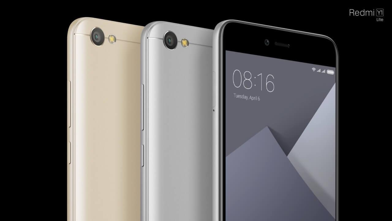 Xiaomi Redmi Y1 e Redmi Y1 Lite anunciados oficialmente!