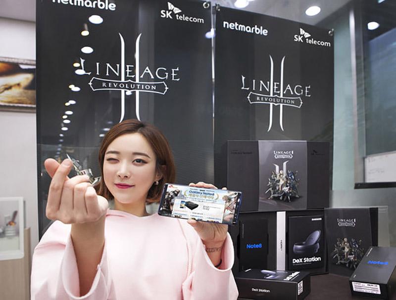 Samsung Galaxy Note 8 Lineage 2 Revolution
