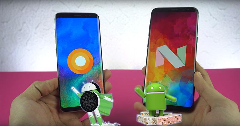 Samsung Galaxy S8 Android Oreo Nougat