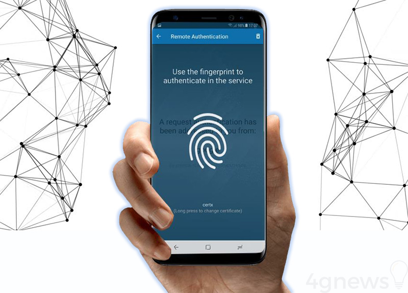 Samsung assinatura digital smartphones