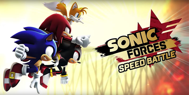Sonic Forces- Speed Battles SEGA Android iOS Play Store AppStore