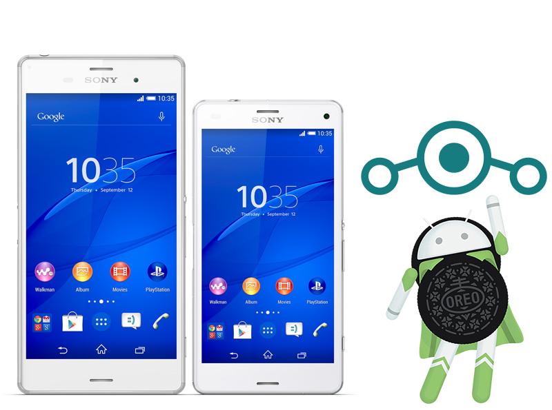 Sony Xperia Z3 Android Oreo LineageOS 15