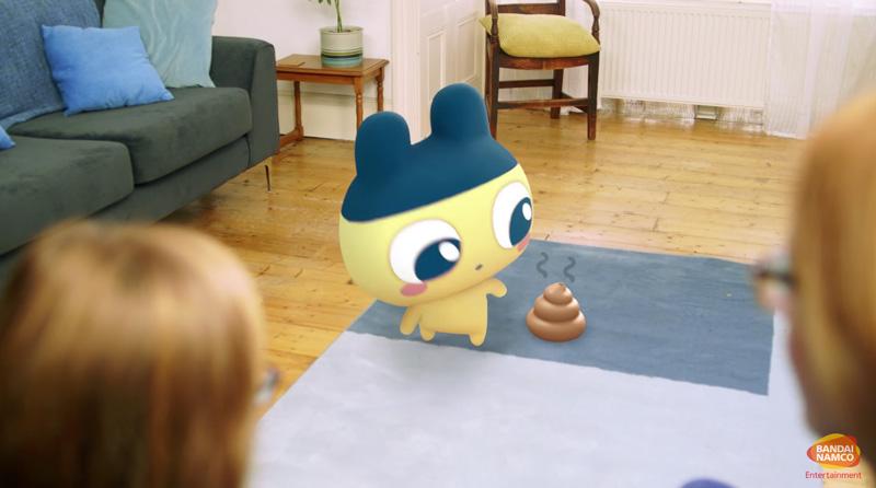 "Jogo ""Tamagotchi"" para Android e iOS poderá ter Realidade Aumentada"