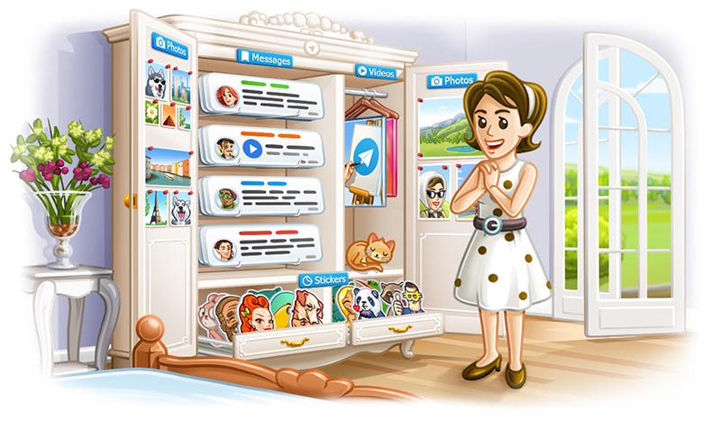 Telegram Android iOS novidades