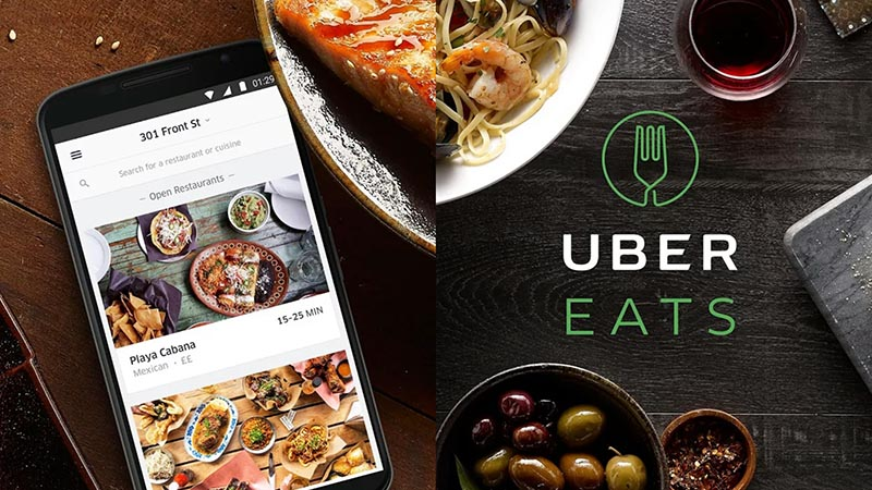 UberEats Uber Lisboa