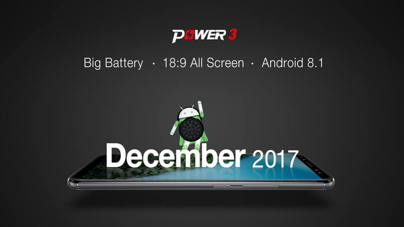 Ulefone Power 3 chega para o próximo mês com ecrã 18:9 e Android Oreo