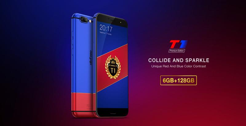 Ulefone T1 Premium destaca-se pela memória interna de 128GB