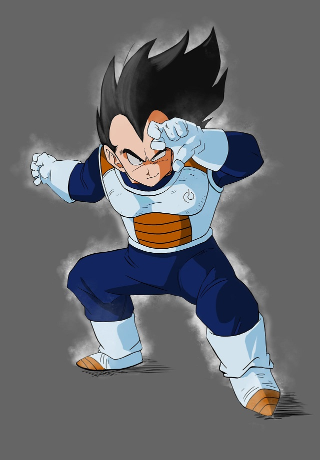 Vegeta Ultra Instinct Dragon Ball Super Goku