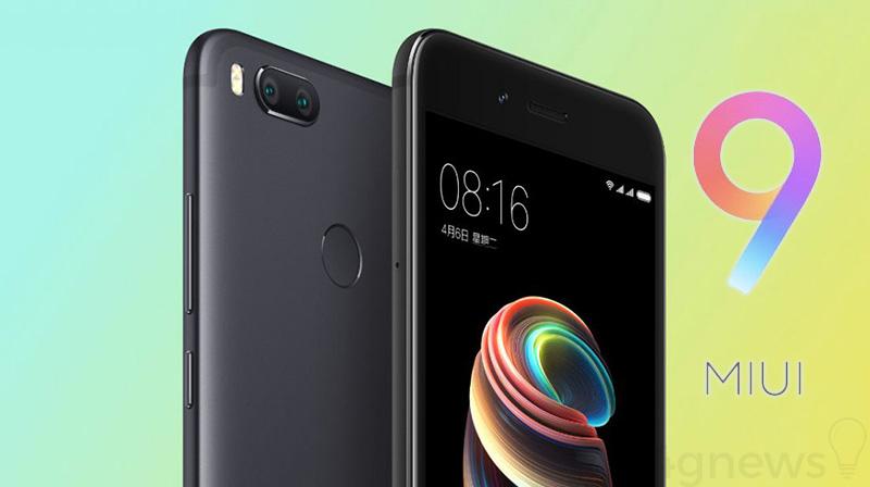 Xiaomi Mi 5X MIUI 9 versão estável
