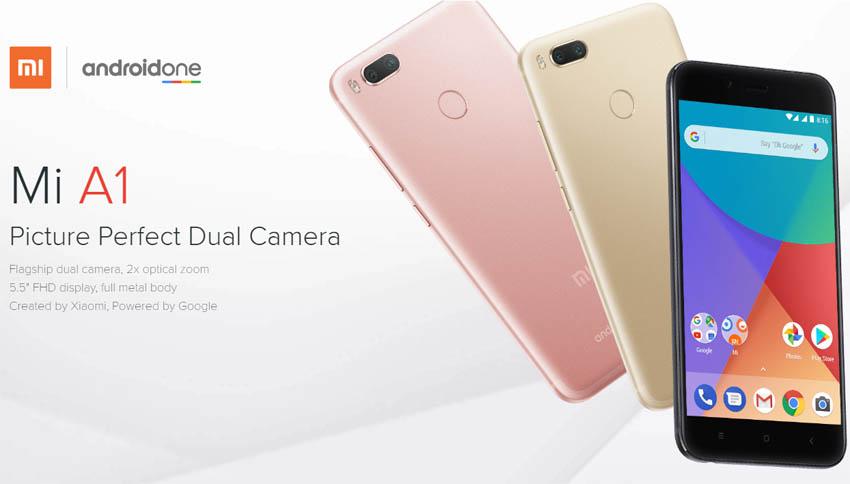 Xiaomi Mi A1 Android atualização