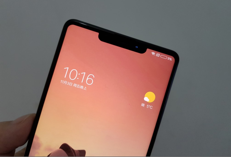 "Xiaomi Mi Mix 2S terá uma ""monocelha"" como o Apple iPhone X"