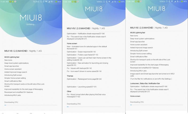 Xiaomi Mi Mix MIUI 9 versão estável