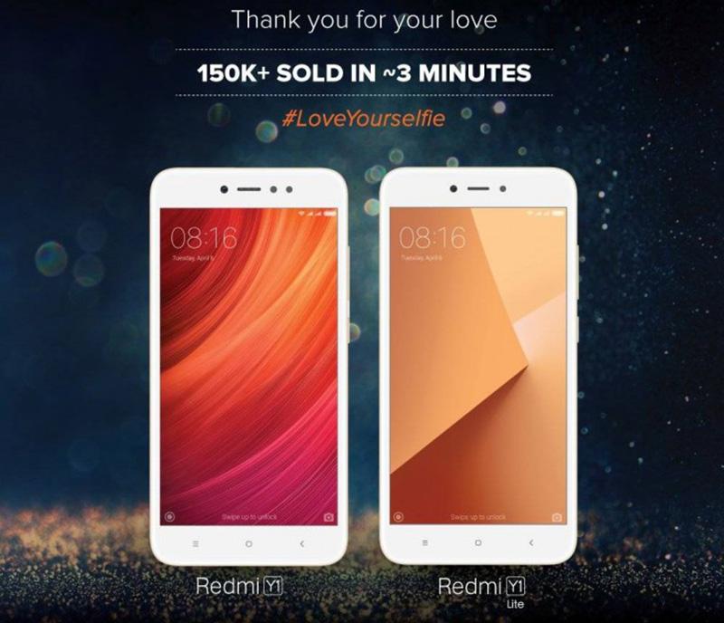 Xiaomi Redmi Y1 e Redmi Y1 Lite