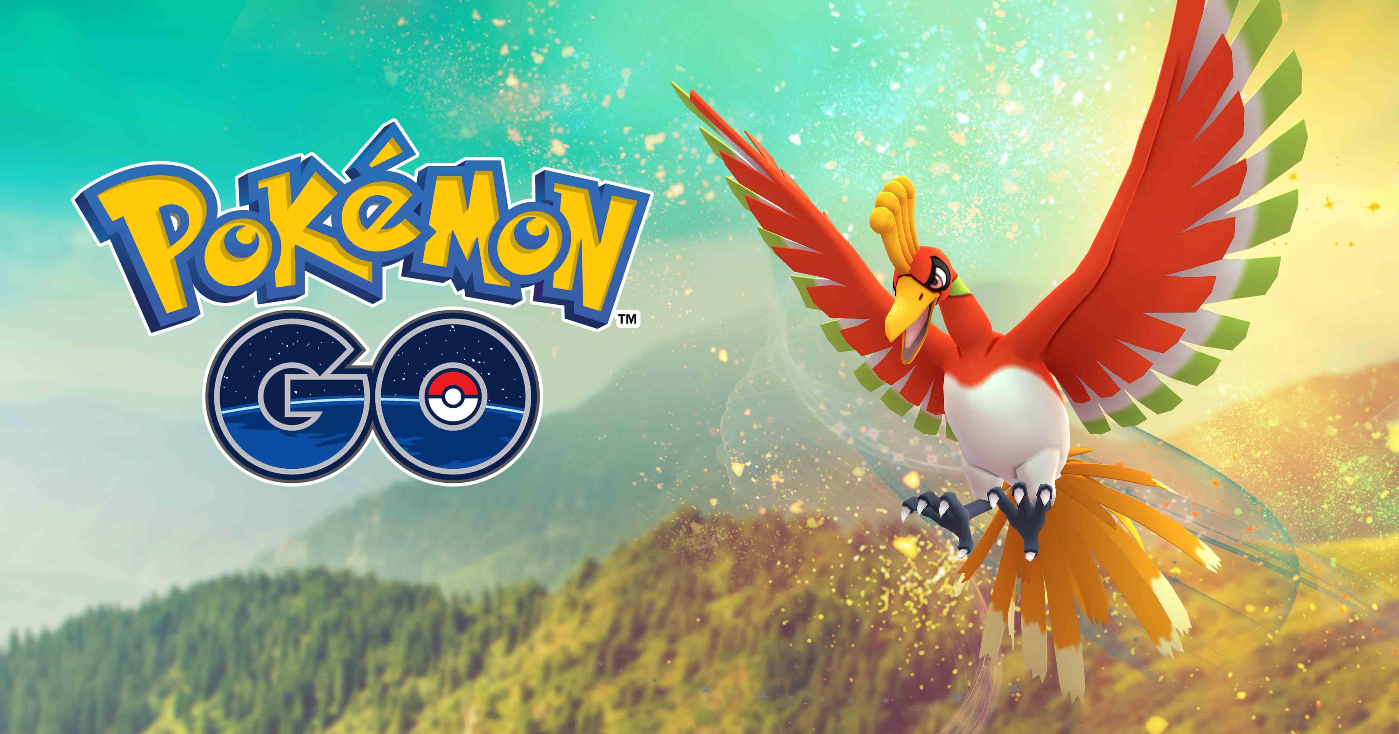 Pokémon GO Ho-Oh Niantic Raid Boss