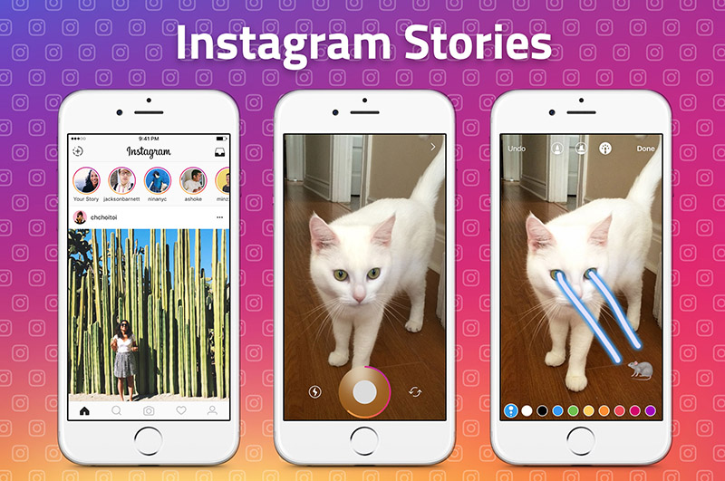 Snapchat ameaças Android iOS Instagram Stories WhatsApp