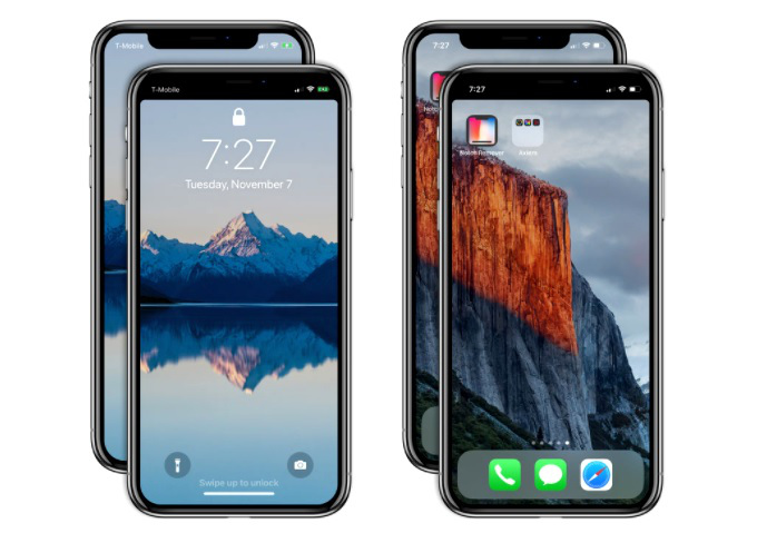 Notch Remover Apple iPhone X App Store