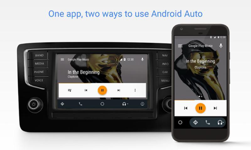 Android Auto Google Play Store aplicação