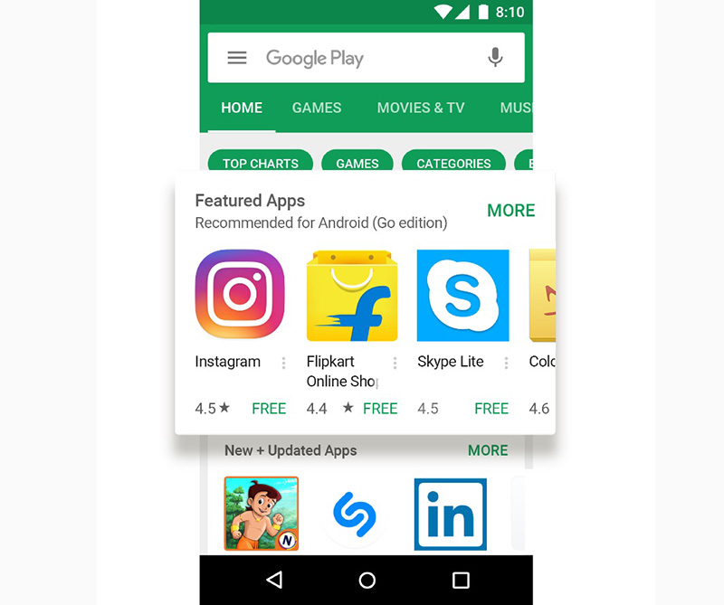 Android Go Android Oreo